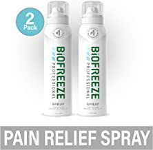Biofreeze Professional Pain Relief Spray, 4 oz. Aerosol Spray, Colorless, Pack of 2
