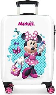 Disney Minnie Good Mood Valise Trolley Cabine Multicolore 34x55x20 cms Rigide ABS Serrure à combinaison 32L 2,5Kgs 4 roues...
