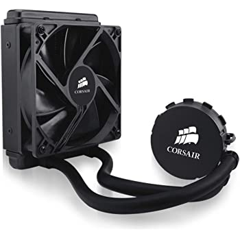 Corsair Hydro Series H55 High Performance All-in-One Liquid CPU Cooler, 120 mm Radiator