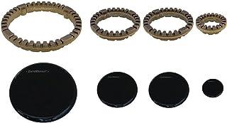 PLAQUES 1 GAZ SÉRIE DE CUISSON brûleur ARISTON INDESIT-EN anneaux en laiton + 4 PIECES COD S 0228