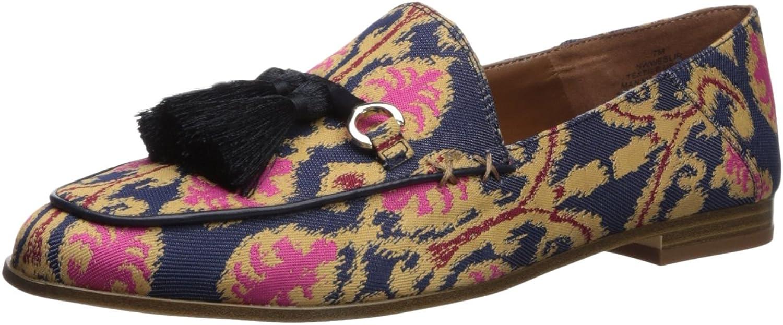 Nine West Womens Weslir Fabric Loafer Flat