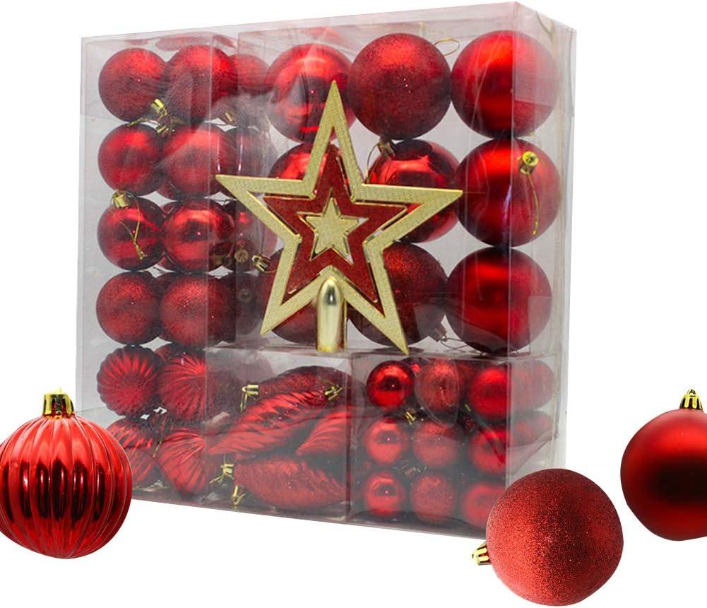 30 Pack Rare Christmas Ball New product Ornaments Xmas Hanging Shatterproof Tree