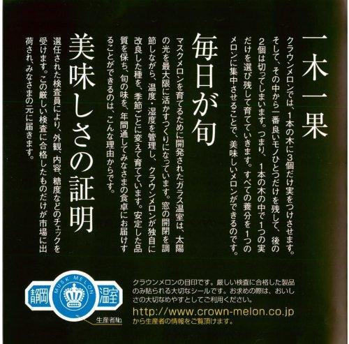 メロンショップマエシマ『静岡クラウンメロン』