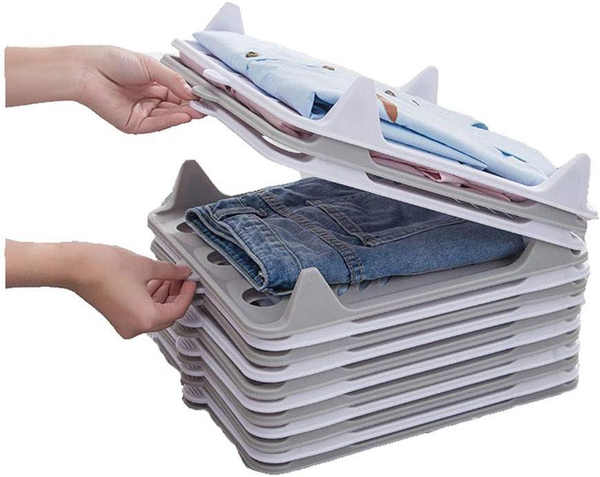 FULCLOUD 7 Pack Clothes Japan Maker New Organizer Folding Tray Wardrobe Board Mail order Te
