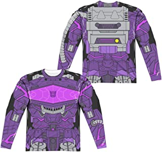 Transformers Shockwave Costume Unisex Adult Long-Sleeve Sublimated T Shirt for Men and Women