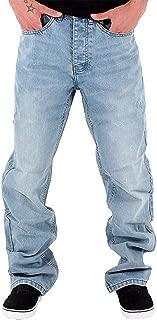 Men's Double R Denim Loose Fit Jeans, Stonewash Blue