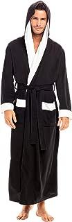 Men's Ultra Soft Waffle Robe with Hood, Long Full Length...