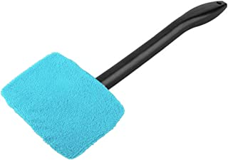 Carrfan New Microfiber Auto Window Cleaner Windshield Fast Easy Shine Brush Handy Washable Cleaning Tool