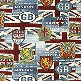 Fabulous Fabrics London GB — Meterware ab 0,5m — zum