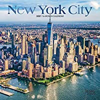 New York City 2021 Calendar: Foil Stamped Cover