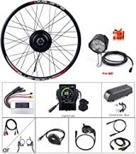 BAFANG 48V 500W Front Hub Motor Brushless Gear Bicycle Engine Electric Bike Conversion Kit with LCD Display for 20