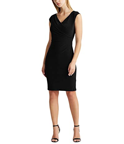 LAUREN Ralph Lauren Jersey Surplice Dress Women
