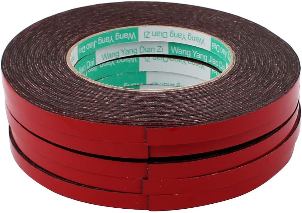 Aexit 5pcs Max 59% OFF 8mm Adhesive Tapes El Paso Mall x Sided S Self 1mm Double