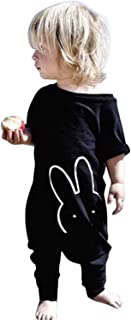 IHRKleid Baby-Bekleidung Onesie Kurzarm Baby IHRKleid Baby Niedlich Cartoon Kaninchen Overall Bodysuit Strampler