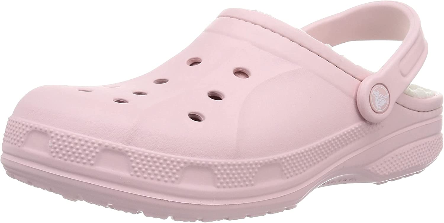 Crocs Men's Very popular and Women's Ralen Price reduction Lined Clog Warm Fuzzy Slippe