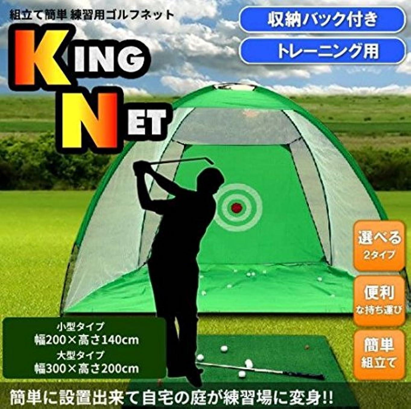 キャリア潮不条理自宅の庭で練習を楽しめる ゴルフネット 収納袋付き ゴルフ練習ネット 【大型タイプ】