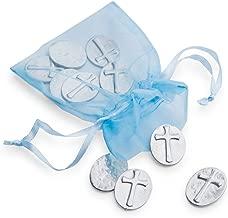DANFORTH - Vilmain Cross Pocket Tokens, Bag of 10 Pocket Coins - Pewter