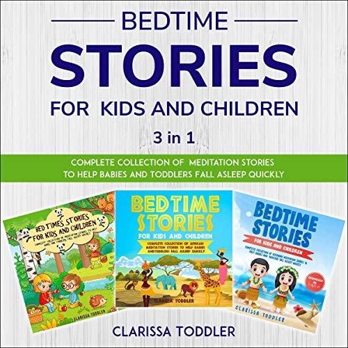 Bedtime Stories for Kids and Children: 3 in 1 cover art
