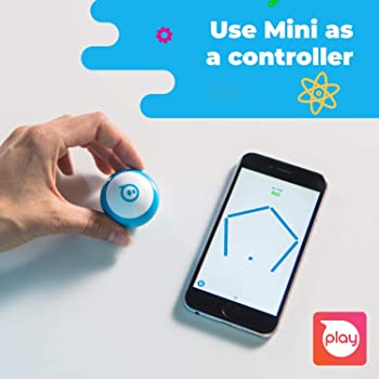 Sphero Mini (Pink) App-Enabled Programmable Robot Ball - STEM Educational Toy for Kids Ages 8 & Up - Drive, Game & Co...