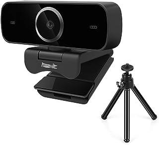 غطاء كاميرا الويب Webcam With Built-in HD Microphone 1920 * 1080P USB 1080P HD Network Camera USB Plug And Play Tripod كام...