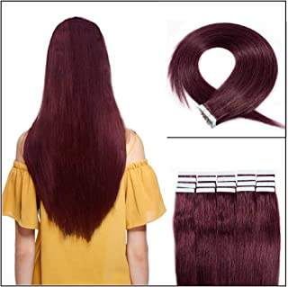 Tape in Human Hair Extensions 20 inch 16
