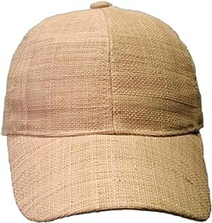 Conner Hats Jenny Cake Raffia Straw Baseball Cap - Natural
