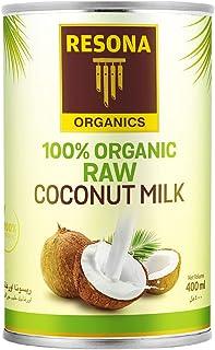 Resona Organic Raw Coconut Milk, 400 ml