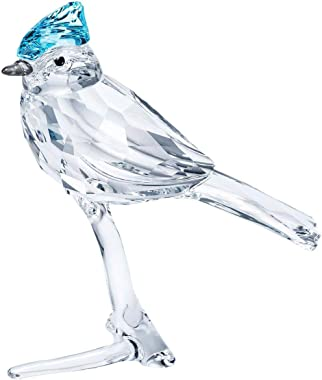 SWAROVSKI Feathered Beauties Blue Jay Crystal Figurine