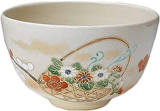 KIYOMIZU Ware Matcha Bowl Flower