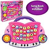 The Learning Journey Electronic Learning – ABC Melody Maker – Pink – Interactive Preschool Toys & Gifts for Boys & Girls Ages 3 and Up – Award Winning Toy