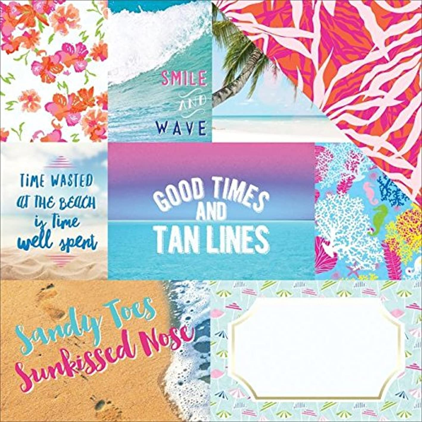 Paper House Productions Paradise Found Tags Paper Craft Product (15 Pack), Piece vhhpchvcdiz642