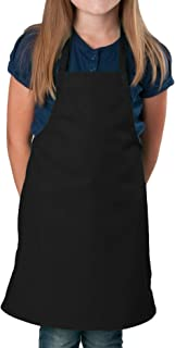 Black Kids Apron, Medium Bib