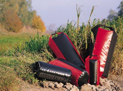 Ortlieb 'Packsack PS490' - 109 L, schwarz-rot