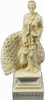 24,67 cm Desconocido Figura de Escultura de la Diosa Romana Griega de Athena Minerva Pintada a Mano