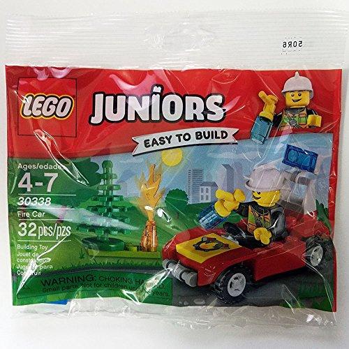 LEGO Juniors Fire car Set #30338 [Bagged]
