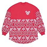 Disney Mickey Mouse ''Merry & Bright'' Holiday Spirit Jersey for Adults, Size M