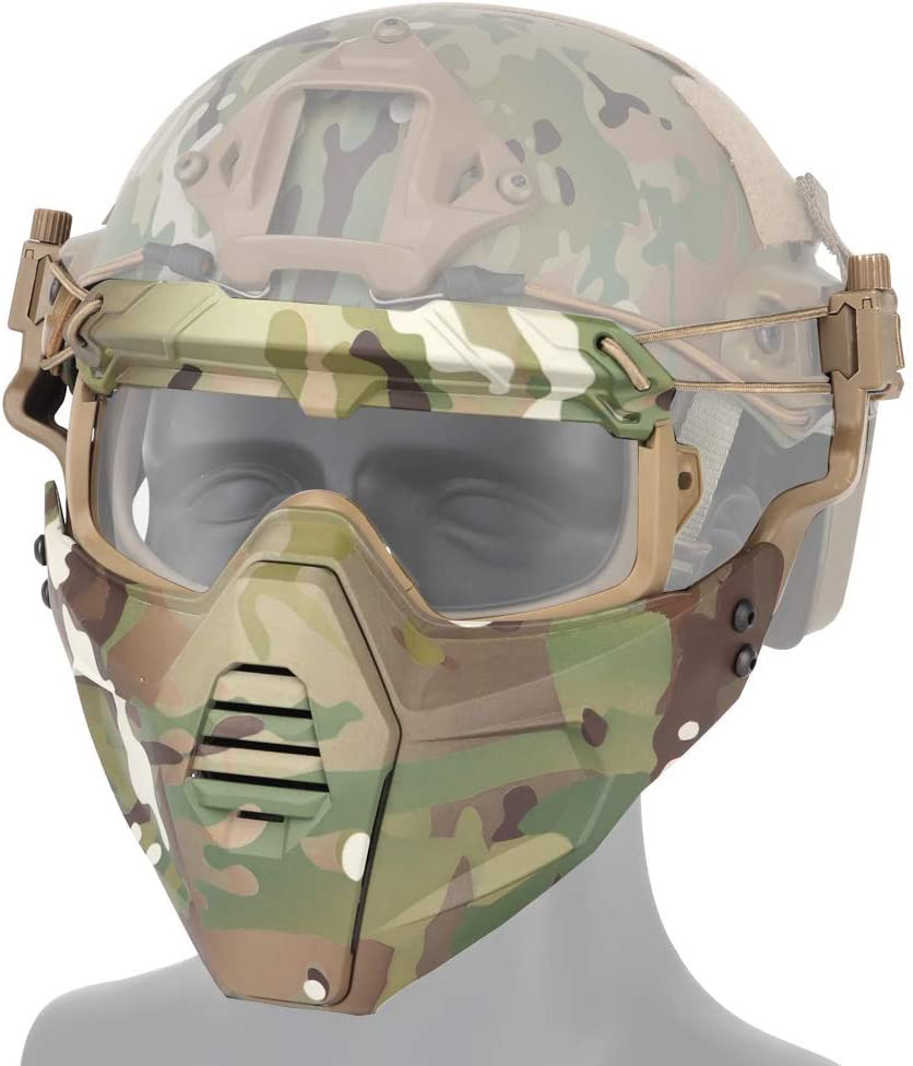 The Detachable Goggles mask is 2021 autumn and winter new Suitable Outd Popular Cycling Hunting for