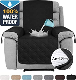 H.VERSAILTEX 100% Waterproof Recliner Covers for Large Recliner, Seat Width Up to..