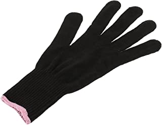 HOMYL Thermal Heat Resistant Glove for Hair Styling Heat Proof Flat Iron and Curling Wand Black