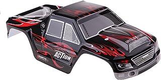 Homyl RC Car Spare Parts PVC Car Body Shell Skin Case Canopy Model for Wltoys 1/18 A979 A979-B Black
