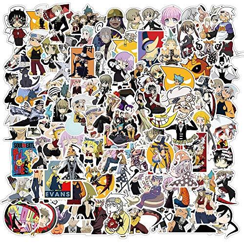 Soul Diner zestaw naklejek dla dzieci kreskówka anime naklejka zabawka DIY laptop artykuły pa deskorolka gitara 100 szt