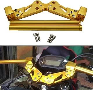 Motorcycle Aluminum Handle Bar Lower Sport Kit Set Support Squat Drag Bike Race Removable Handle Bar System for Honda MSX125