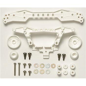 タミヤ ミニ四駆限定シリーズ 強化リヤダブルローラーステー (3点固定タイプ・ホワイト) 94942