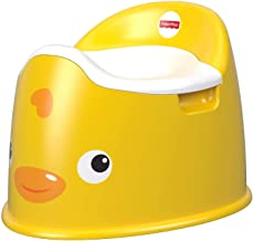Ducky Potty Safe Toddler Training Seat Potty Training Seat for Boys Girls Kids Toddler, Non Slip Potty Training Toilet with Lid and Container, Easy Clean