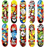QNFY Fingerskateboard, 4PCS Professional Mini Griffboards...