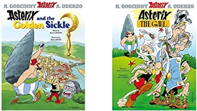 Asterix And The Golden Sickle: Album 2+Asterix The Gaul: Album 1 (Set Of 2 Books)