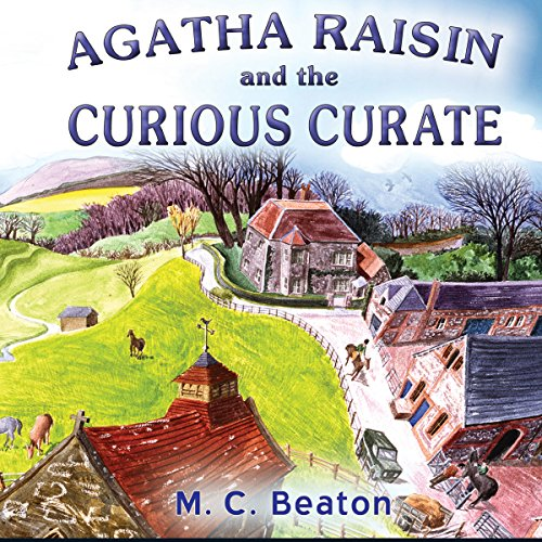 Agatha Raisin: The Curious Curate audiobook cover art