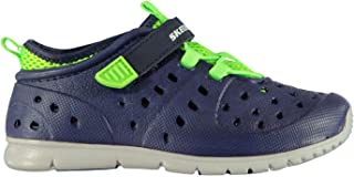 Official Brand Skechers Hydrozooms Splasher Water Shoes Infants Boys Navy/Lime Sandals Shoes