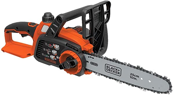 BLACK DECKER 20V MAX Cordless Chainsaw 10 Inch Tool Only LCS1020B Black