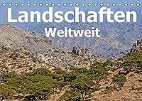 Landschaften - Weltweit (Tischkalender 2022 DIN A5 quer): Die schoensten Landschaften dieser Welt (Monatskalender, 14 Seiten )